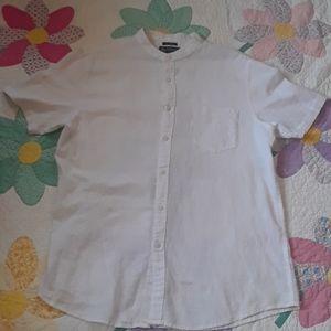 American Rag men's linen shirt